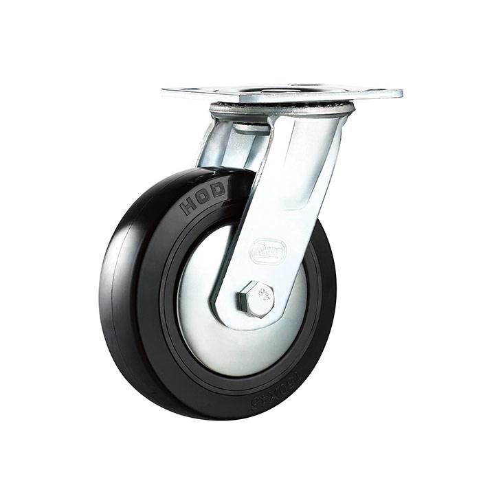 重型平底活动仪器脚轮