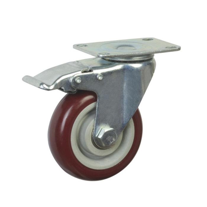 中重型平底活动仪器脚轮