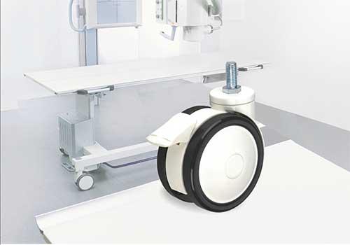 业亿脚轮厂家的美容仪器脚轮产品展示